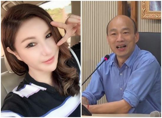 ▲韓國瑜和利菁是同學。(圖/資料照/翻攝自利菁臉書)