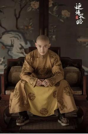 ▲聶遠飾演《延禧攻略》的乾隆皇帝。(圖/翻攝自豆瓣)