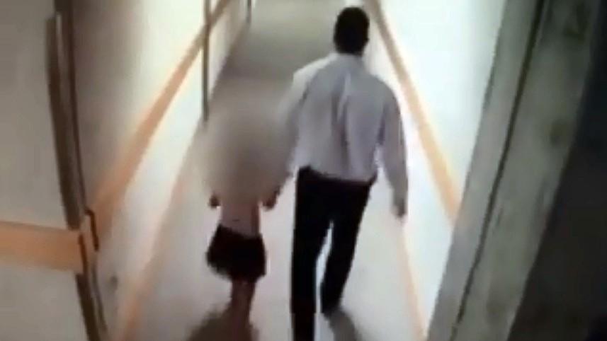 ▲▼保全性侵女童。(圖/翻攝自YouTube)