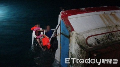 1晚3意外!2船員緊抱船尾 又見火燒車...警消累趴