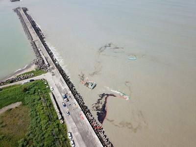 嘉明海運連兩年擱淺、漏油遭重罰