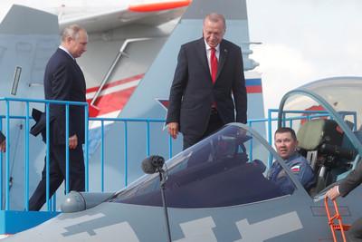 土耳其遭美踢出F-35計畫 俄推銷SU-57
