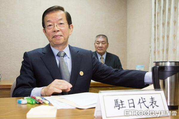 駐日代表謝長廷(圖/記者季相儒攝)2139730