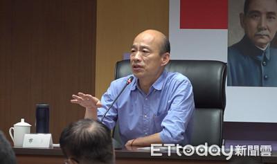 韓國瑜稱青少年吸毒比例過半 刑事局打臉