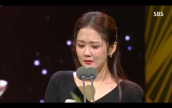 ▲▼首爾國際電視節/金南佶拿視帝、張娜拉奪視后(圖/翻攝自SBS Youtube)