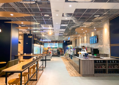 拿鐵、卡布奇諾限時買一送一!邊喝咖啡還能洗衣服買菜 全家南台灣最大複合店來了