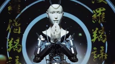 機器人也可以普渡眾生!史上第一尊「AI法師」誦經 京都寺廟引以為榮