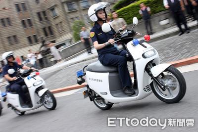 404輛Gogoro警車台北市上線服役