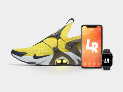 Nike新鞋款Adapt Huarache可透過聲控Siri調整鞋帶鬆緊