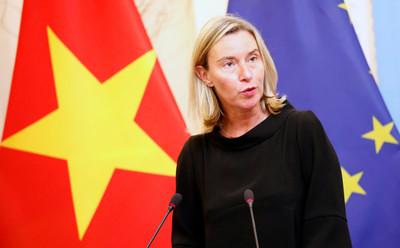 歐盟求美伊「好好坐下來」談核協議