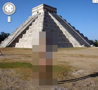 金字塔vs外星人?Google街景拍到了..