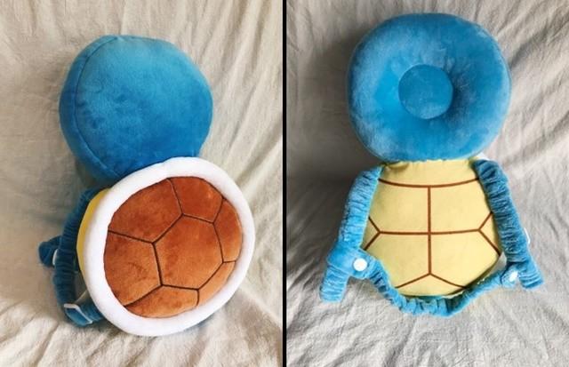 ▲傑尼龜防護枕(圖/翻攝自網路)