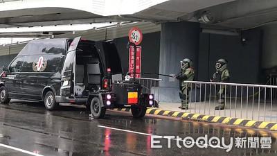 小港機場驚傳爆裂物!現場封鎖中