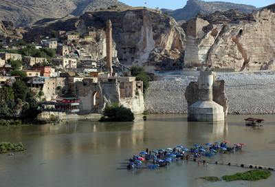 萬年古鎮將被淹沒 大壩啟用暴漲60公尺