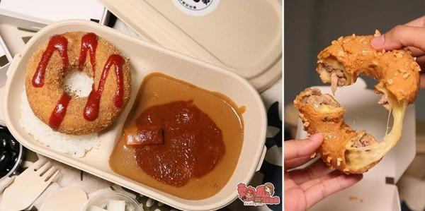 內餡藏玄機!全台首創獨特口味甜甜圈 吃得到炸雞和臭豆腐