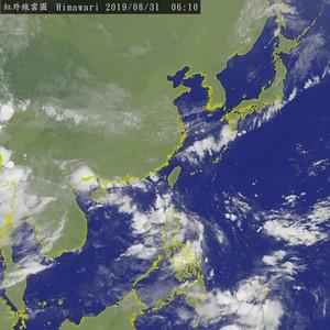 下週熱帶擾動活躍 週三低壓北抬轉有雨