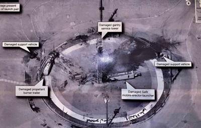 川普推特公布伊朗發射場機密照