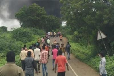 印度化工廠爆炸起火 8死數十傷