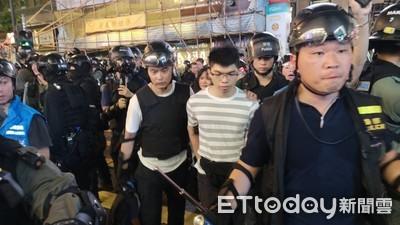 2站共逮63人!港警公布831遊行逮捕人數