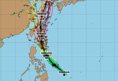 玲玲、劍魚颱風可能接連生成 周三起變天