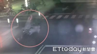 死亡瞬間曝光!晨運婦遭機車撞飛50m亡