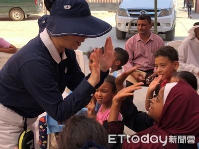 台灣美語老師 為敘利亞難民帶來歡笑