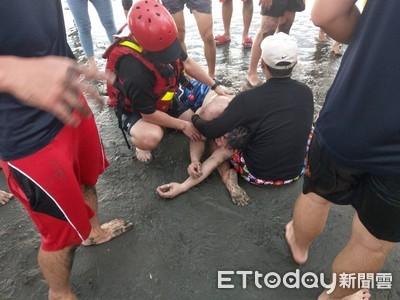 台南安平觀夕平台6人溺1人身亡