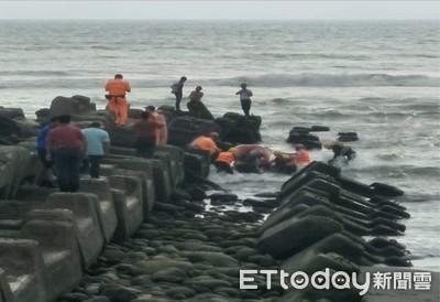 高雄1男被海浪捲走!3小時尋獲送醫不治