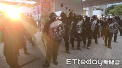 葉毓蘭赴香港目睹「暴民行為」!