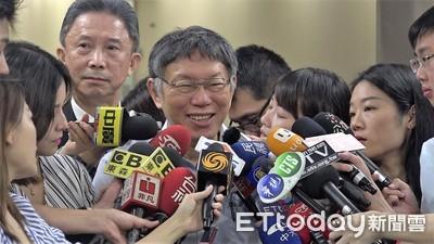 批藍綠總統初選荒謬 柯文哲:民進黨灌票讓韓國瑜贏的