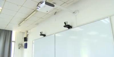 南京藥科大教室「人臉辨識」 玩手機、打瞌睡「大數據」全都錄