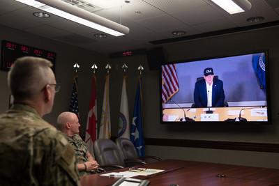 多利安強襲 川普:沒聽說過5級颶風