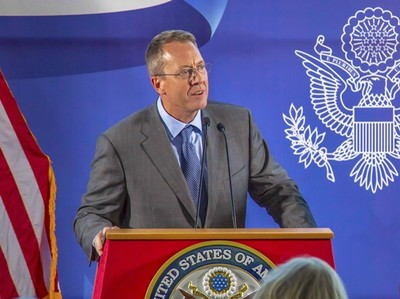 美駐委內瑞拉大使:不尋求軍事介入