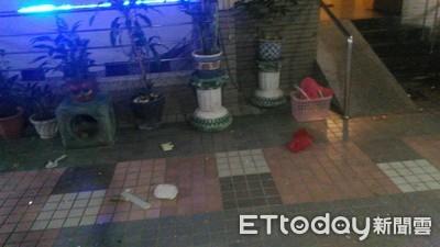 台南安平區大樓氣爆窗戶炸裂!2兄弟頭手灼傷