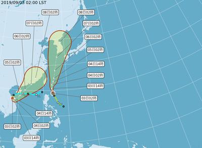 玲玲颱風對台影響 氣象局曝「兩觀察重點」