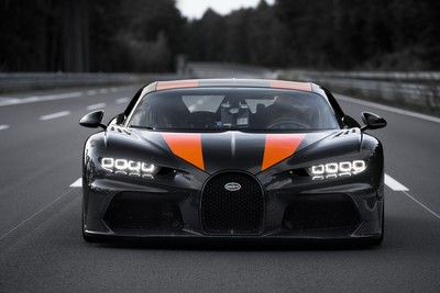 Bugatti原型車奪回最速汽車寶座