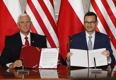 美國與波蘭簽5G網路安全宣言 防設備供應商被外國政府控制