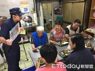 社區「共餐」聚會 警抓機會宣導