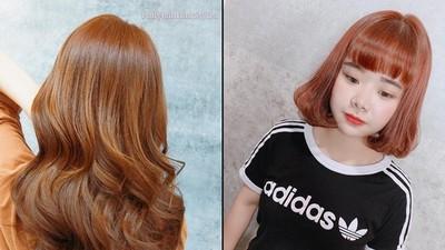 周子瑜也染「蜜糖橘」!韓流甜美髮色來襲 青春顯白完美詮釋夏天