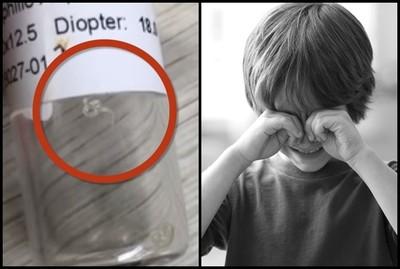 2歲童眼睛竄「6條透明噁蟲」醫揭真相