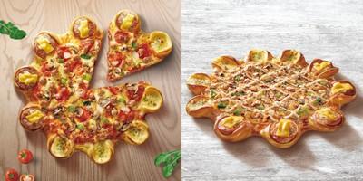 「比薩+漢堡」破天荒合體!雙重口味一次滿足
