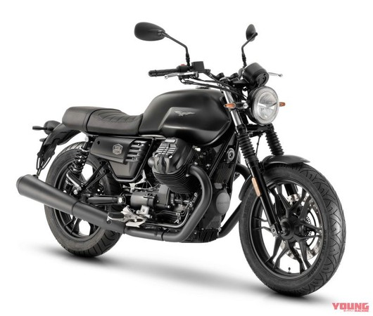 襯托夜色之美 Moto Guzzi「V7 III Stone Night Pack」