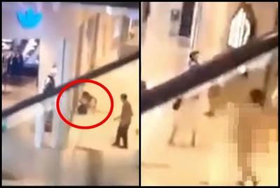 年輕女逛百貨「遭裸男撲倒」嚇壞:沒人來救