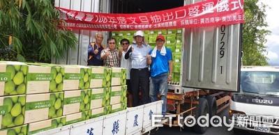花蓮文旦再裝櫃 銷往大陸已達121公噸