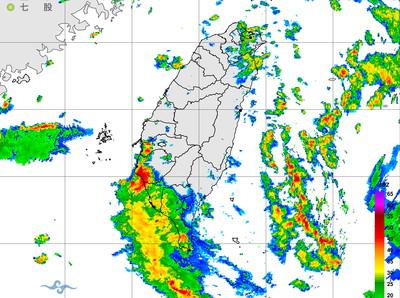 快訊/雨區擴大!大雷雨炸台南高雄5縣市豪大雨特報