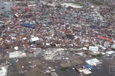 巴哈馬風災增至7死!街道全變廢墟