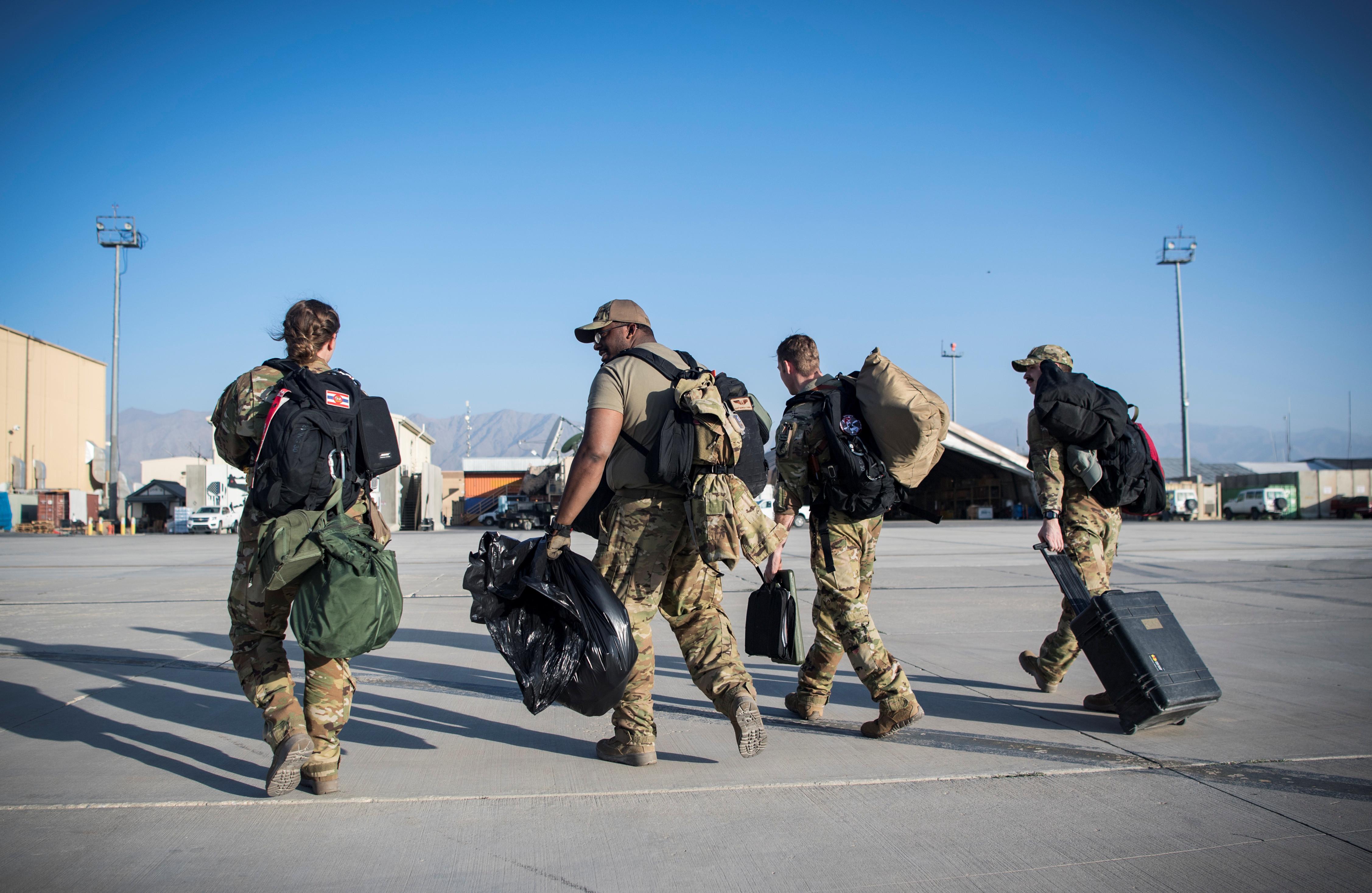 ▲▼美國與塔利班達成協議,準備撤離5400名駐阿富汗美軍。(圖/路透)