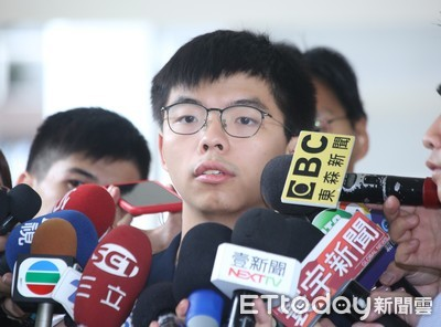 黃之鋒重申:抗議示威將持續下去