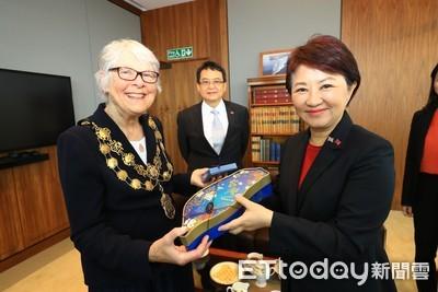 盧秀燕訪英拜會倫敦西敏市長