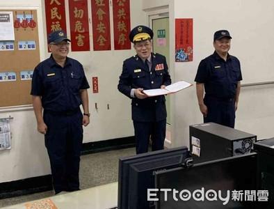 南警六分局鹽埕所所長吳俊祥布達